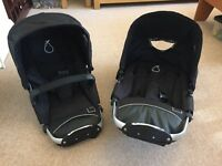 iCandy Apple to Pear Conversion Kit - includes pip frame, two seats, rain covers, car seat adaptors
