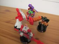 TRANSFORMER ATTACKTIX BATTLE FIGURES £3 EACH - PLAYED WITH BUT EXCELLENT CONDITION