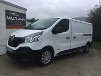 Late 2014 Renault trafic lwb business ed finance available zero deposits other vans in stock