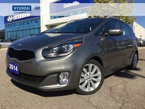 2014 Kia Rondo EX   LEATHER   BACK CAM   PARK ASSIST   ONE OWNER