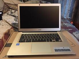 Acer Chromebook 14 gold aluminium