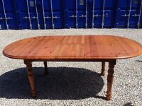 Extending Pine Dining Table - Made by Celtic Pine