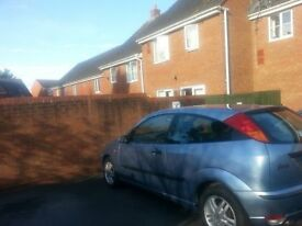 FORD FOCUS ZETEC 1.6 Petrol automatic 3door very light metalic blue
