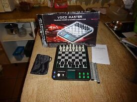 Chess/Draught board game set