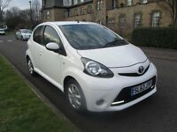 2013 Toyota Aygo - 5 Door - White - Leather Interior- 23,000 Miles, ***FINANCE AVAILABLE***