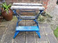 Black and Decker Workmate - old but functional. Some rust. £10