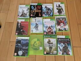 12 XBOX 360 GAMES - £15 FOR THE LOT