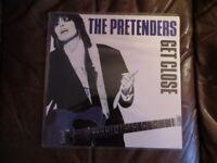 "The Pretenders Original vinyl LP "" Get Close."""