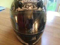 Shoei full face motorcycle helmet
