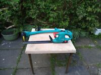 Cordless Hedge trimmer and Grass Trimmer