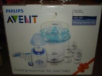 avent sterliser and bottle warmer