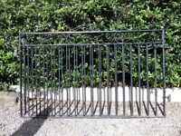 Beautiful Pair Of Cast Iron Metal Garden Gates - Others Available