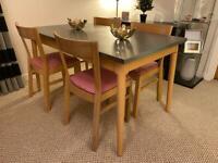 Habitat extendable dining table