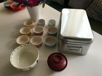 Assorted Kitchen Crockery and Tin Storage Box FREE to a good home!