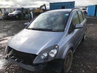 Vauxhall Zafira petrol car breaking engine gearbox Ecu set door