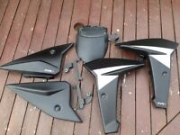 Yamaha MT09 puig Radiator Wings & Side Cover fill Panels Puig