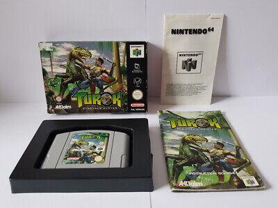 Turok Dinosaur Hunter N64 Complete VGC