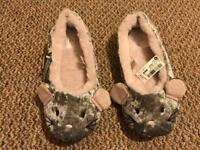 * NEXT Cute Slippers Size 7 *