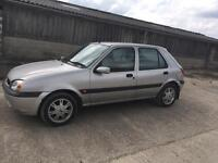 Ford Fiesta 1.25 new clutch and timing belt