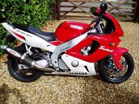 Yamaha YZF600 Thundercat Great Condition Long MOT UK Delivery only £110