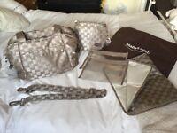 Baby changing bag & thermal bottle holder