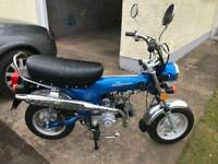 2007 Road Legal DX 90 Monkey bike 30 miles