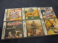 6 Nintendo DS games complete in box in good condition