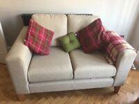 Next Beige 2 Seater Sofa
