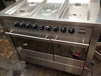 Stainless Range gas cooker dual Cooker......Mint Free Delivery