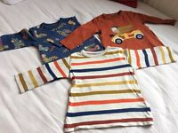 Next blouses(9-12mths), Next jumpers(12-18mths) for a boy