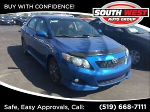 2010 Toyota Corolla S, WELL EQUIPPED, ALL POWER