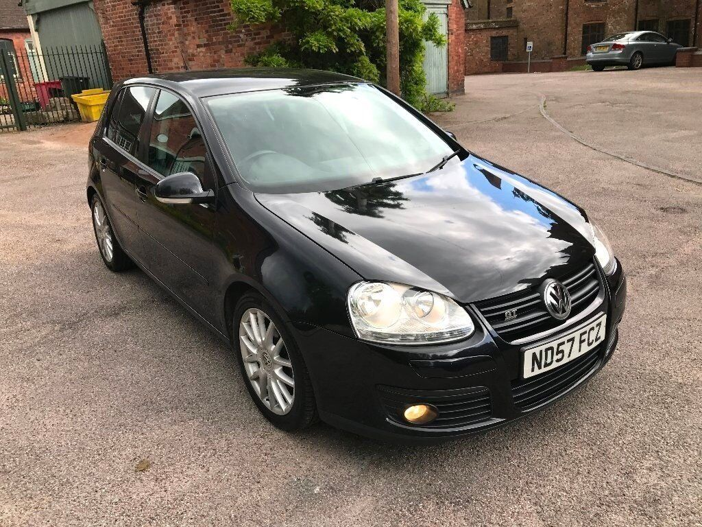 gt tdi sport facelift 2007 volkswagen golf 2 0 tdi gt sport 5 door diesel black in five ways. Black Bedroom Furniture Sets. Home Design Ideas
