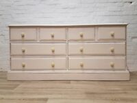 Painted Pine Chest Of Drawers (DELIVERY AVAILABLE FOR THIS ITEM OF FURNITURE)