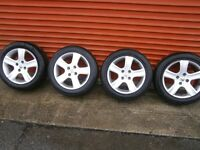 307 16 in alloys for sale