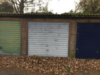 Lock up garage off Angel Road in Thames Ditton, Surrey