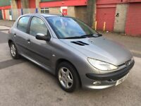 Peugeot 206 1.4 GLX 5dr (MOT UNTIL DECEMBER 2018) 2001