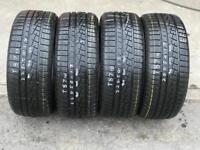 4 part worn tyres 225/50/17 YOKOHAMA W DRIVE