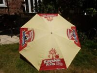 FREE DELIVERY KINGSTONE PRESS CIDER 1.8m with TILT PUB PARASOL LARGE RUGBY BREWING BREWERY