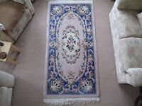 Large Rug - Excellent quality - Traditonal Classic blue and cream rug
