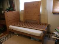 John Lewis pine cotbed, great condition