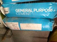 2 bags of cement