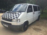 Vw T4 transporter van (ideal conversion)