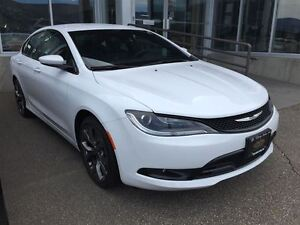 2015 Chrysler 200 S w/ 8.4uconnect, remote start & bluetooth