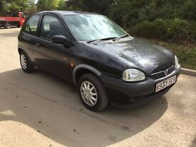 2000 VAUXHALL CORSA SPARES OR REPAIRS ONLY DUE TO ITS AGE MOT £295 O-N-O