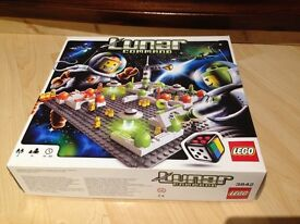 Lego Lunar Command 3842 Game