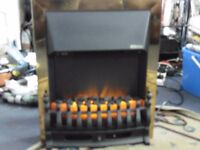 electric log look fire 2 settings for flame 20 pounds all working