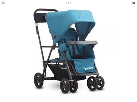 Baby and toddler buggy, tandem, excellent condition - joovy caboose ultralight