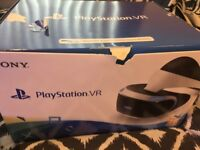 PlayStation VR (PSVR) bundle, boxed and like new, great bundle for PS4