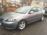 LOW MILEAGE MAZDA 3 1.6 5DR PETROL MOT TILL FULL YEAR MOT EXCELLENT CONDITION