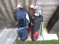 junior golf clubs and bags